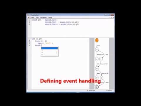 Hasselt, a textual, composite event-driven language