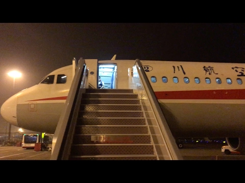 Supermoon Nightflight to Sichuan - Sichuan Airlines A321 Bangkok to Chengdu | INFLIGHT EXPERIENCE