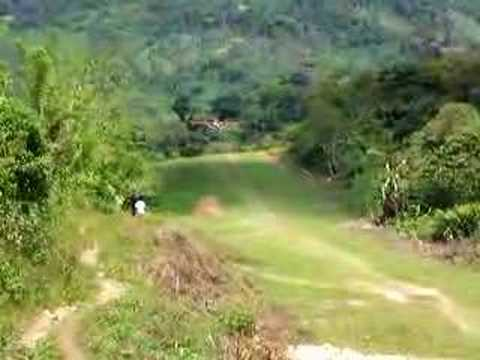 Cessna Landing in Jungle in Guatemala