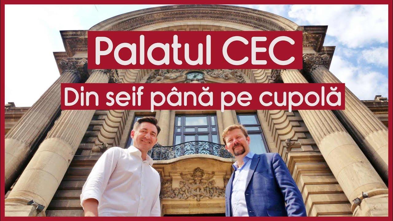 Palatul CEC. Din seif până pe cupolă - CASEBUNE.RO