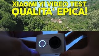 Xiaomi Yi Action Camera - All Video e Audio test (60FPS)