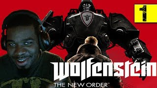 Wolfenstein The New Order Gameplay Walkthrough Part 1 - Deathshead - Wolfenstein Gameplay Black Guy