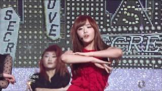 SECRET - Love Is Move, 시크릿 - 사랑은 무브, Music Core 20111224 thumbnail