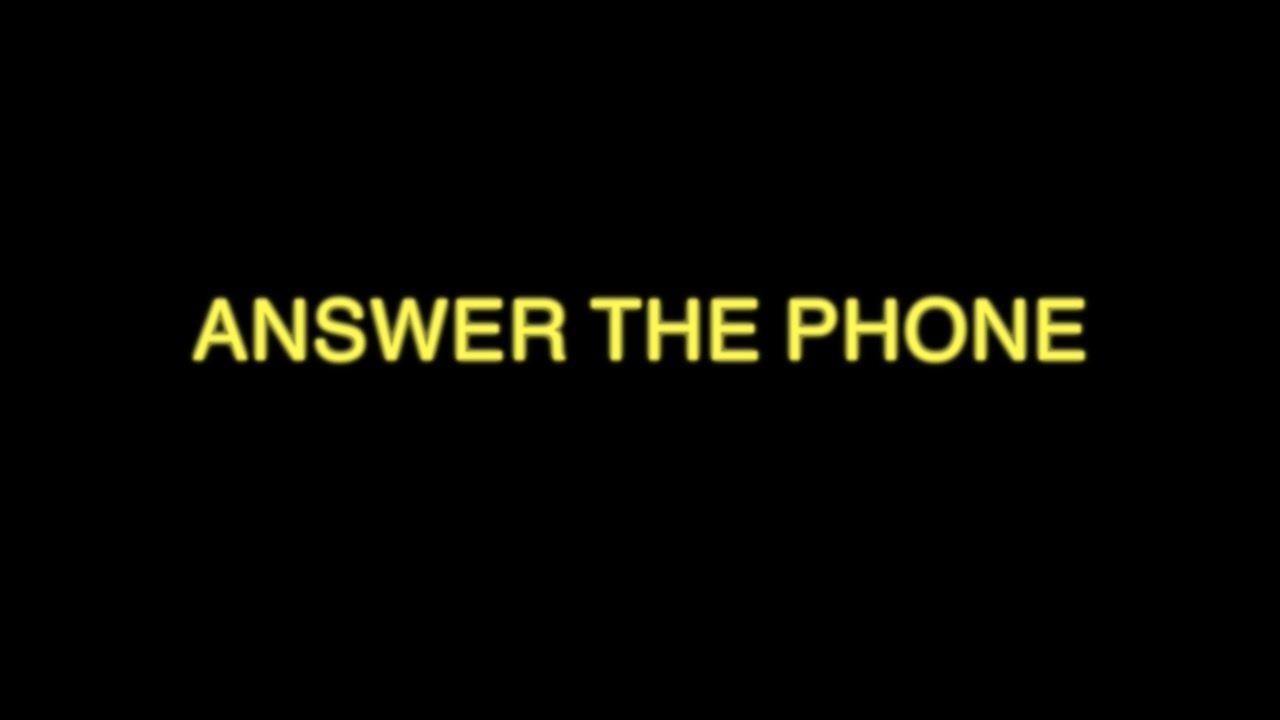 Answer The Phone: September 2017