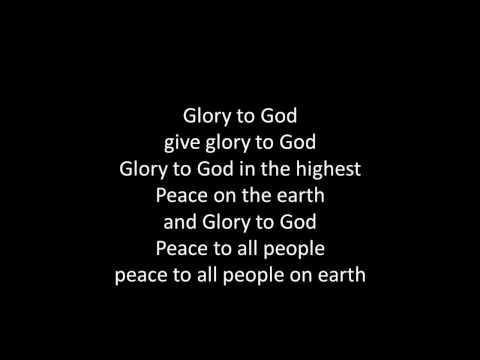 Glory to God (with lyrics)