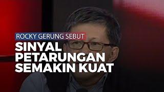 Rocky Gerung Sebut 'Sinyal Pertarungan' Jokowi dan Anies Baswedan Makin Kuat di Tahun 2020