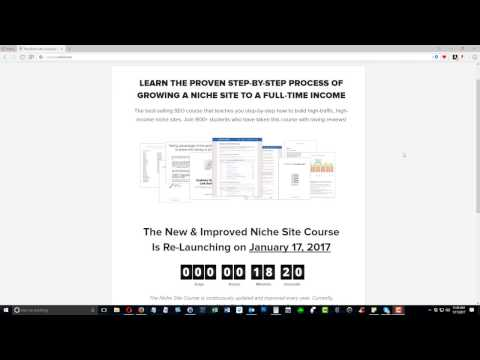 rankxl Niche Site Course (Chris Lee) Review