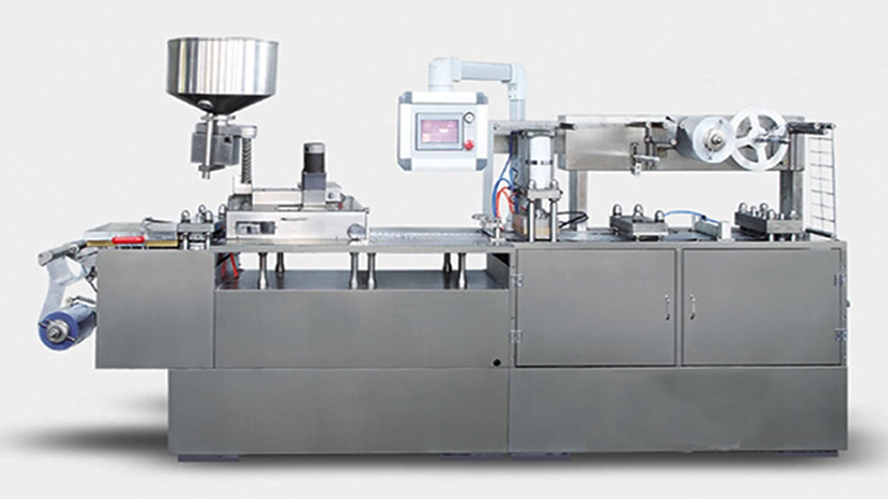 Blister Packing Machine Automatic Chocolate Gum Candies