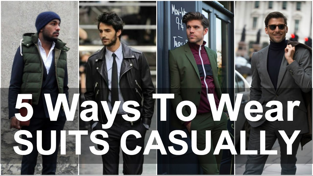 5 Ways To Dress Smart Casual Men S Style Youtube