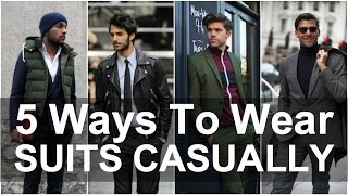5 Ways to Dress Smart Casual | Men