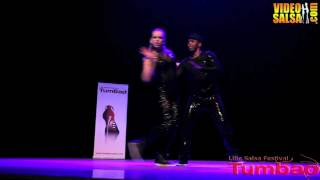"Salsa Hip hop inspired show to "" Rhythm is Gonna Get You  -  Gloria Estefan ""  - by  Zerjon & Nina"