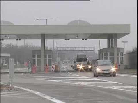 Schengen: Czeck Republic - Slovakia border control