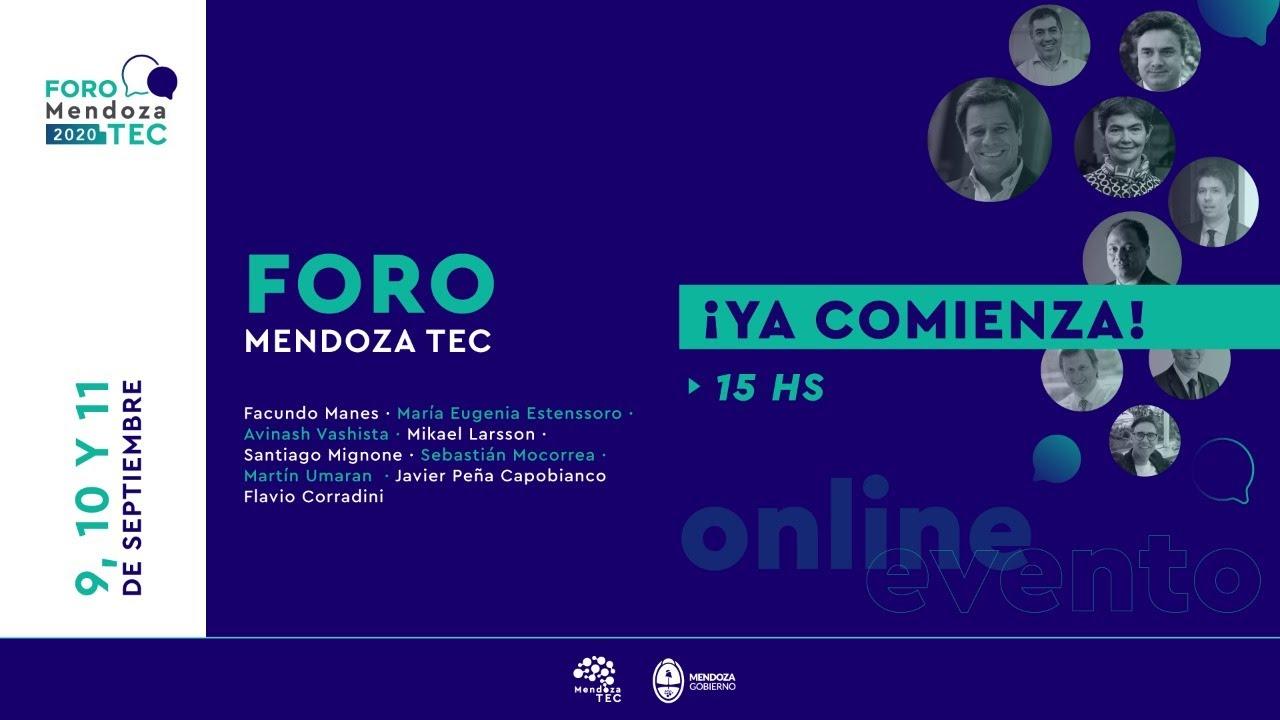 Foro Mendoza Tec