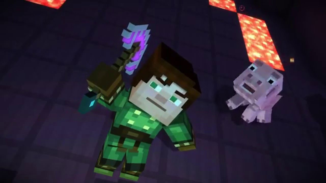 Minecraft Story Mode Episode 4 Amazing Armor And