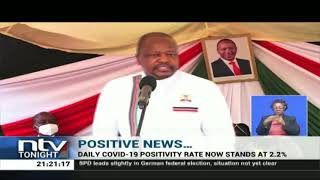 CS Kagwe says economy can be re-opened as Covid-19 infections dip