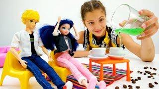 Работа для Полен - Бариста - Видео для девочек с Маринетт
