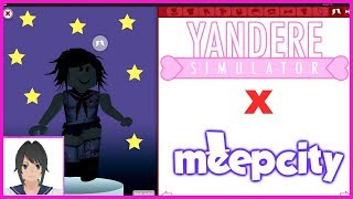HOW TO MAKE YANDERE CHAN IN MEEP CITY!!! - Roblox: Meep City