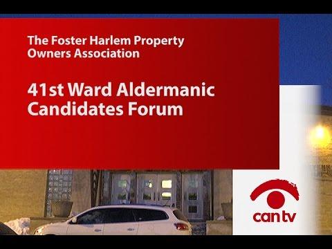 41st Ward Aldermanic Candidates Forum