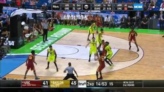 Men's Basketball: USC 78, Baylor 82 - Highlights 3/19/17