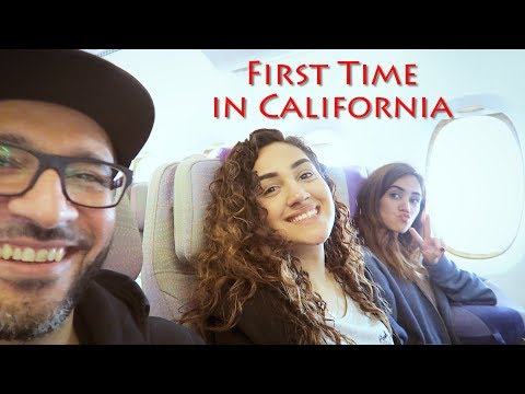 First Time In California