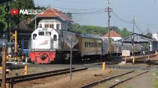 20 video Kereta Api SPESIAL 40 TAHUN Pengabdian Lokomotif CC 201 di Indonesia