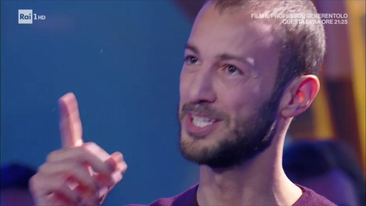 daniele di benedetti  Daniele Di Benedetti ospite a Rai 1 - 17 Febbraio 2018 - YouTube