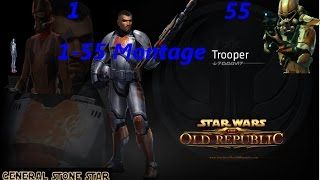 Swtor: Trooper Leveling montage 1-55
