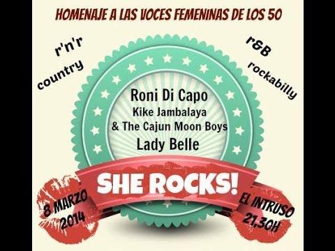 SHE ROCKS! - THE TIME MACHINE -