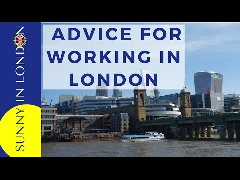 WORKING IN LONDON AS AN AMERICAN EXPAT