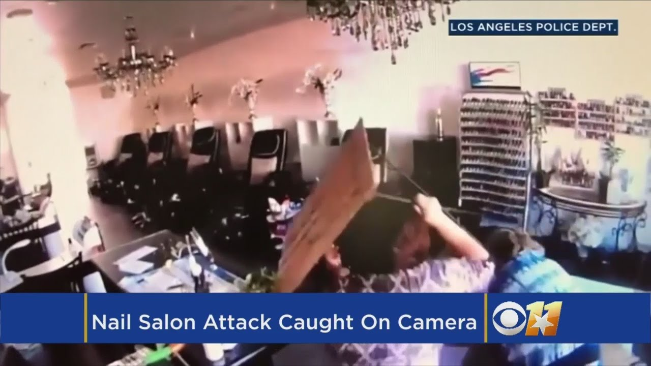 Sisters Fight Off Carjacking Suspect In Los Angeles Nail Salon ...