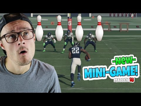 BRAND NEW AMAZING MINI GAME IN MADDEN 18!! *EXTREME BOWLING*