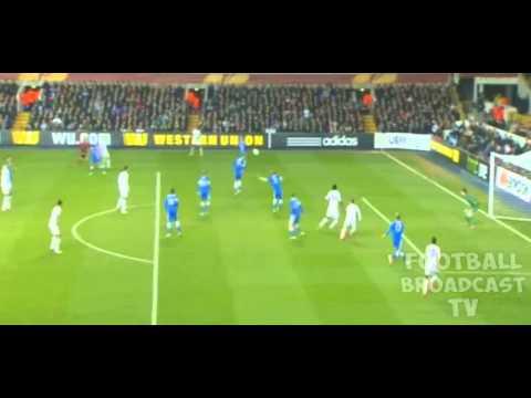 """EMMANUEL ADEBAYOR GOAL"" ( 2 - 1 ) | TOTTENHAM HOTSPUR vs DNIPRO 27.02.14"