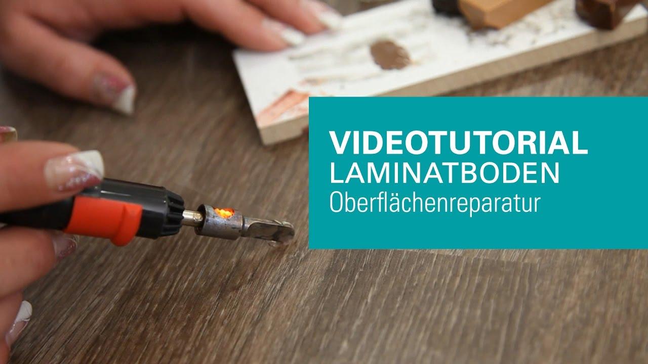 Beliebt wineo | Ausbessern und Reparatur von Laminat und Designboden XO54
