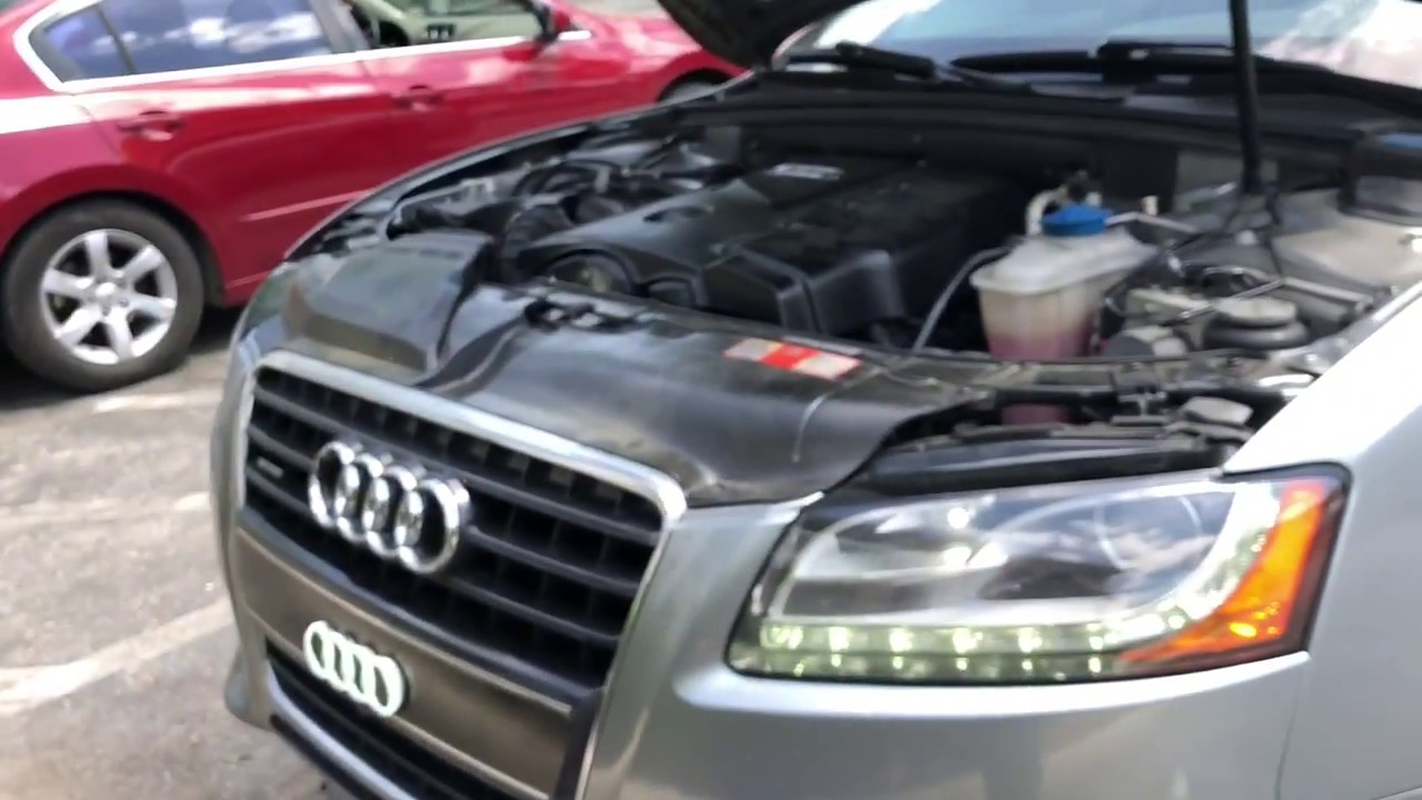 Change coolant antifreeze on Audi A5 2010 ( for $ 35 dollar)