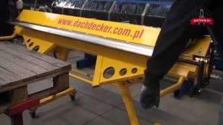 видео Листогиб механический BerTech ZRF 2250/1.2 в комплекте с опциями