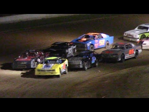Pure Stock Feature | McKean County Raceway | 6-20-17