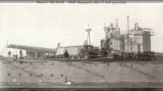 HMS Vanguard Tribute