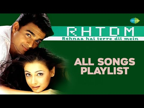 Rehnaa Hai Tere Dil Mein | रहना है तेरे दिल में  | All Songs | R Madhavan | Diya Mirza: Rehnaa Hai Terre Dil Mein (RHTDM) is a 2001 Indian film directed by Gautham Menon starring Madhavan, Diya Mirza in the lead roles & Saif Ali Khan in the supporting role.  Track Names:  01. Rehnaa Hai Tere Dil Mein 00:00 02. Bolo Bolo 05:07 03. Oh Mama Mama 11:02 04. Zara Zara 15:37 05. Dilko Tumse Pyar Hua 20:35 06. Such Keh Raha Hai 26:06 07. Kaise Mein Kahun Tujhse 31:34 08. Zara Zara (flute Fusion) 32:38 09. Soni Soni 40:28  Movie- Rehnaa Hai Terre Dil Mein Song-Rehnaa Hai Tere Dil Mein Singer-Sonu Nigam & Kavita Krishnamurthy Music Director-Harris Jayaraj Lyricist-Sameer Mood- Love, Longing Theme-Romantic Starcast- Madhavan, Saif Ali Khan &  Diya Mirza Movie- Rehnaa Hai Terre Dil Mein Song-Bolo Bolo Singer-Shaan Music Director-Harris Jayaraj Lyricist-Sameer Mood- Joy, Enthrallment, Rapture Theme-Effervescent Starcast- Madhavan, Saif Ali Khan &  Diya Mirza  Movie- Rehnaa Hai Terre Dil Mein Song-Oh Mama Mama Singer-Sonu Nigam Music Director-Harris Jayaraj Lyricist-Sameer Mood-Joy, Enthrallment, Rapture Theme-Effervescent Starcast- Madhavan, Saif Ali Khan &  Diya Mirza  Movie- Rehnaa Hai Terre Dil Mein Song-Zara Zara Singer-Bombay Jayashree Music Director-Harris Jayaraj Lyricist-Sameer Mood- Love, Longing Theme- Romantic Starcast- Madhavan, Saif Ali Khan &  Diya Mirza  Movie- Rehnaa Hai Terre Dil Mein Song-Dilko Tumse Pyar Hua Singer-Roop Kumar Rathod Music Director-Harris Jayaraj Lyricist-Sameer Mood- Love, Longing Theme-Romantic Starcast- Madhavan, Saif Ali Khan &  Diya Mirza  Movie- Rehnaa Hai Terre Dil Mein Song-Such Keh Raha Hai Singer-Shaan & Sunidhi Chauhan Music Director-Anand Raj Anand Lyricist-Sameer Mood- Love, Longing Theme-Romantic Starcast- Madhavan, Saif Ali Khan &  Diya Mirza  Movie- Rehnaa Hai Terre Dil Mein Song-Kaise Mein Kahun Tujhse Singer-KK Music Director-Harris Jayaraj Lyricist-Sameer Mood- Love, Longing Theme-Romantic Starcast- Madhavan, Saif Ali Khan &  Diya Mirza  Movie- Rehnaa Hai Terre Dil Mein Song-Zara Zara (flute Fusion) Singer-Bombay Jayashree Music Director-Harris Jayaraj Lyricist-Sameer Mood-Mood- Love, Longing Theme-Romantic Starcast- Madhavan, Saif Ali Khan &  Diya Mirza  Movie- Rehnaa Hai Terre Dil Mein Song-Soni Soni Singer-Sukhwinder Singh & Vasundhara Das Music Director-Aadesh Shrivastava Lyricist-Sameer Mood- Love, Longing Theme-Romantic Starcast- Madhavan, Saif Ali Khan &  Diya Mirza  Label- Saregama India Limited   For more Jukebox & Bollywood Songs log on & subscribe http://www.youtube.com/songsofindiancinema  For more videos log on & subscribe to our channel http://www.youtube.com/saregamaindia  For more updates Follow us on Facebook http://www.facebook.com/Saregama  Follow us on Twitter: http://twitter.com/Saregamaindia  For Mobile download Visit :: mobile.saregama.com  Zara Zara Lyrics Zara zara behekta hain mehekta hain Aaj to mera tan badan Main pyaasi hoon mujhe bhar le apni baahon mein Zara zara behekta hain mehekta hain Aaj to mera tan badan Main pyaasi hoon mujhe bhar le apni baahon mein Hai meri kasam tujhko sanam door kahin na jaa Yeh doori kehti hain paas mere aaja re  Yuhi baras baras kaali ghata barse Hum yaar bheeg jaaye is chaahat ki baarish mein Meri khuyli khuli lato ko suljaaye Tu apni ungliyon se main to hoon isi khwaayish mein Sardi ki raaton mein hum soye rahe ek chaadar mein Hum dono tanha ho na koi bhi rahe is ghar mein Zara zara behekta hain mehekta hain Aaj to mera tan badan Main pyaasi hoon mujhe bhar le apni baahon mein Aaja re aa re  Tadpaye mujhe teri sabhi baatein Ek baar ay deewani jhootha hi sahi pyaar to kar Main bhooli nahin haseen mulakaatein Bechain karke mujhko mujhse yun na pher nazar Roothega na mujhse mere saathiyan yeh vaada kar Tere bina mushkil hain jeena mera mere dil mein Zara zara behekta hain mehekta hain Aaj to mera tan badan Main pyaasi hoon mujhe bhar le apni baahon mein Hai meri kasam tujhko sanam door kahin na jaa Yeh doori kehti hain paas mere aaja re Aaja re aaja re aaja re