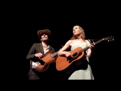 Long Black Veil - Gillian Welch and Dave Rawlings - Enmore Theatre, Sydney 8-2-2016