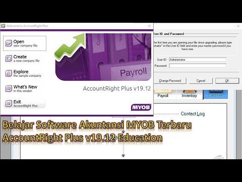 Tutorial MYOB Accounting Terbaru Part 1 (Membuat Database Dan Setting Pajak)