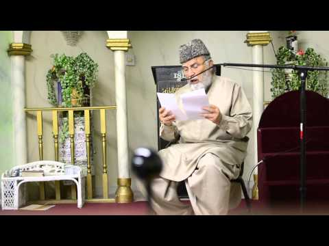 Namdar Khan Bozai at MICC