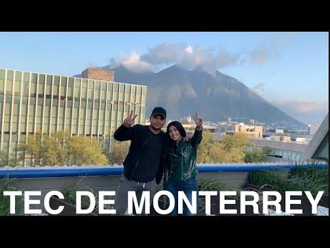 TOUR POR EL TEC DE MONTERREY PARTE 2 * CÓMO ES LA MEJOR UNIVERSIDAD DE MÉXICO
