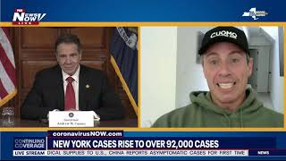 SURREAL: Chris Cuomo Jokes About Having A Fever