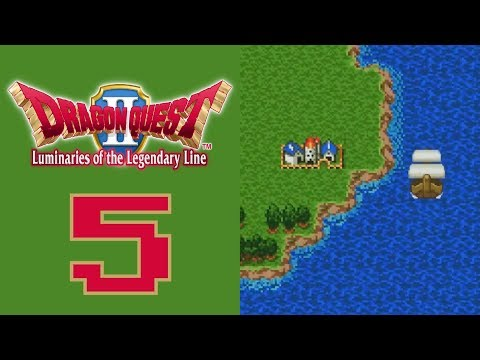 Let's Play Dragon Quest II (BLIND) Part 5: SUP LIL BOAT
