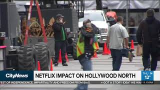 How Netflix's $500M pledge could affect Hollywood North