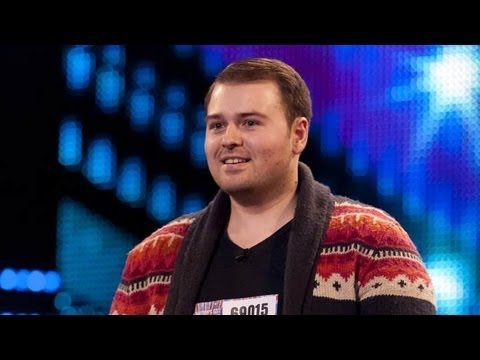 Tony Roberts Sir Duke - Britain's Got Talent 2012 audition - International version