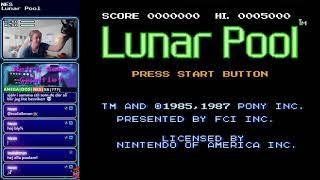 Retro Game Gauntlet [part 8] [NES: Lunar Pool]