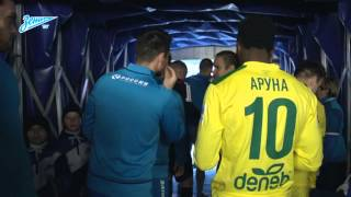 Скрытая камера «Зенит-ТВ» на матче против «Анжи»