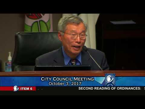 Cupertino City Council - Barry Chang Speaks on VTA and Transit Issues