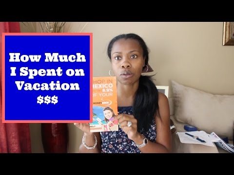 What I Bought and How Much I Spent $$$ on My Cruise Vacation!